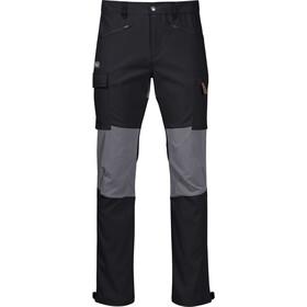 Bergans Nordmarka Hybrid Hose Herren black/solid dark grey
